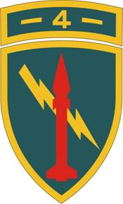 4th Missile Command insignia